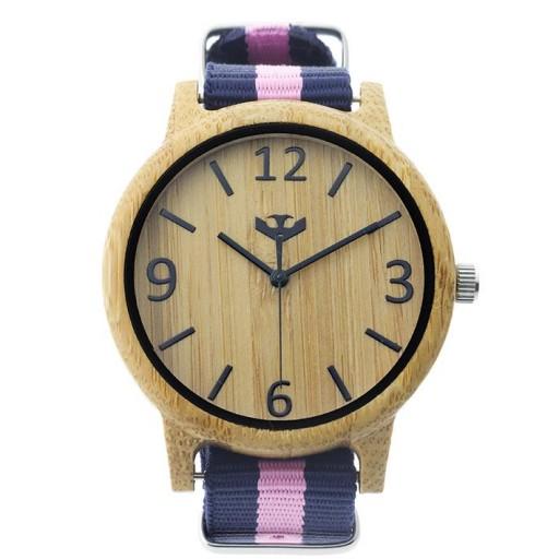 Reloj de madera Mosca Negra SLOWOOD 02 [1]