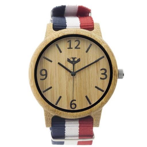 Reloj de madera Mosca Negra SLOWOOD 03 [1]