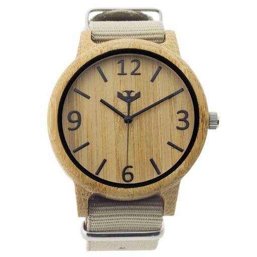 Reloj de madera Mosca Negra SLOWOOD 07 [1]