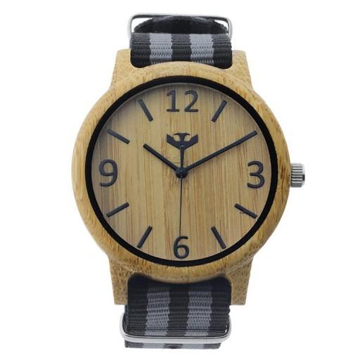 Reloj de madera Mosca Negra SLOWOOD 09 [1]