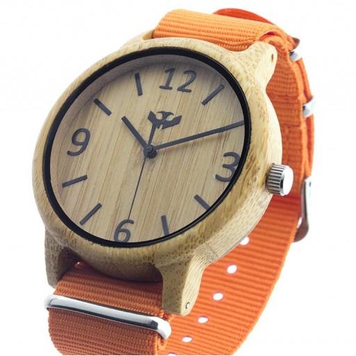 Reloj de madera Mosca Negra SLOWOOD 10