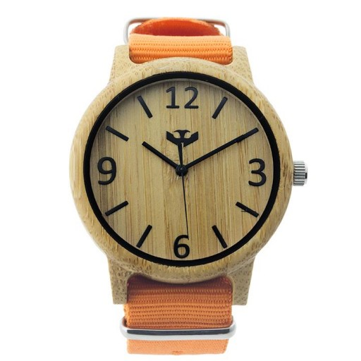 Reloj de madera Mosca Negra SLOWOOD 10 [1]