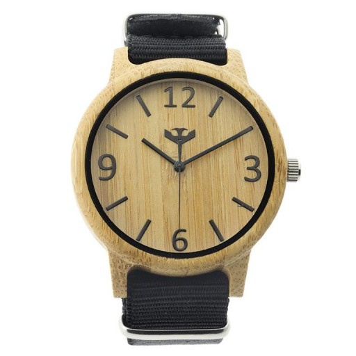 Reloj de madera Mosca Negra SLOWOOD 11 [1]
