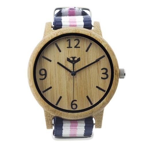 Reloj de madera Mosca Negra SLOWOOD 13 [1]