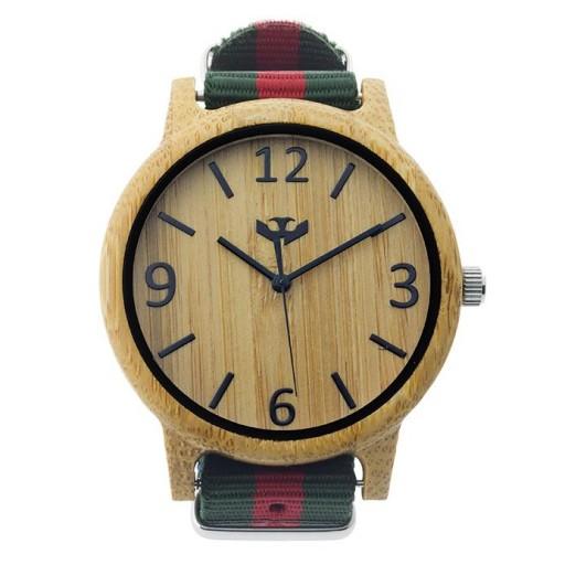 Reloj de madera Mosca Negra SLOWOOD 15 [1]