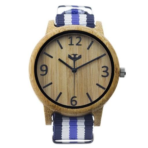 Reloj de madera Mosca Negra SLOWOOD 19 [1]