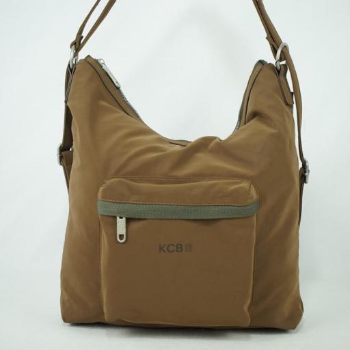 Bolso mochila kcb xavea marrón  (1).JPG