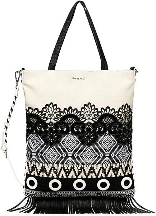 Bolso shopping desigual black white coro 1.jpg