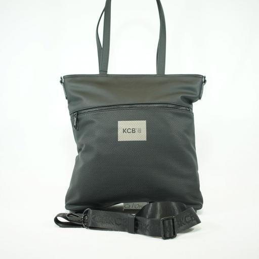 "Bolso shopper ""L"" kcb lourdes summer negro  (1).JPG"