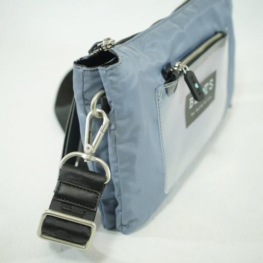 "Bolso cartera y bandolera ""S"" bets nylon summer azul jeans (5).JPG [3]"