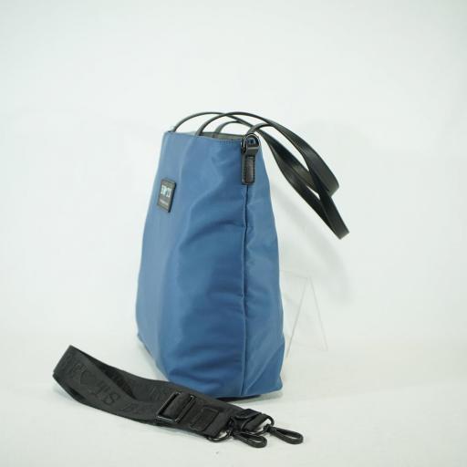 Bolso shopper de brazo y bandolera bets neopreno summer azul (3).JPG [2]