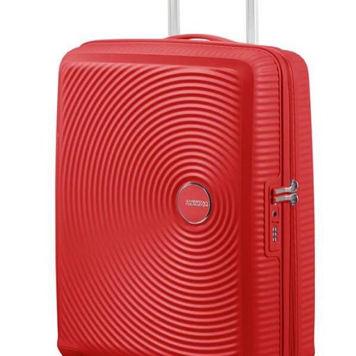 Soundbox maleta Spinner exp.  Red Coral 55x40x20/23cm 88472/1226