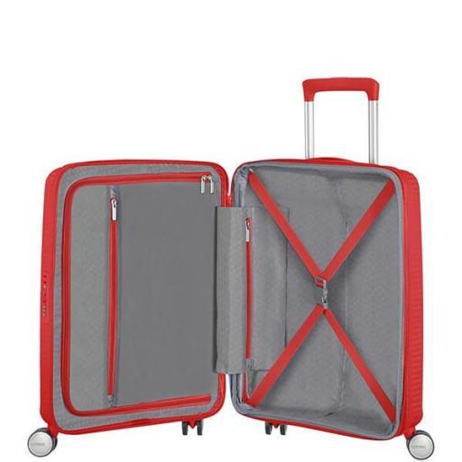 Soundbox maleta Spinner exp.  Red Coral 55x40x20/23cm 88472/1226 [1]
