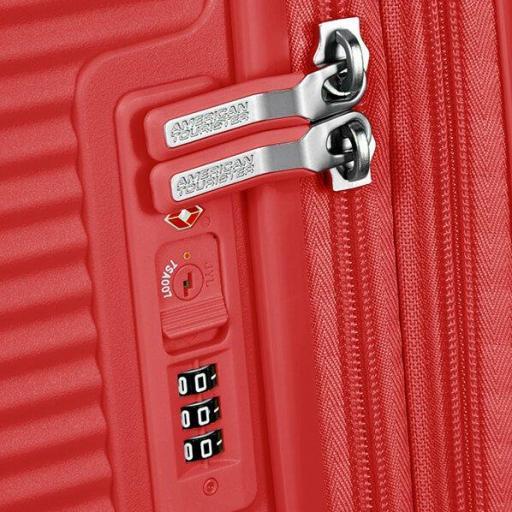 Soundbox maleta Spinner exp.  Red Coral 55x40x20/23cm 88472/1226 [2]
