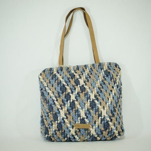 Bolso de brazo shopping biba handmade aruba azul  (1).JPG
