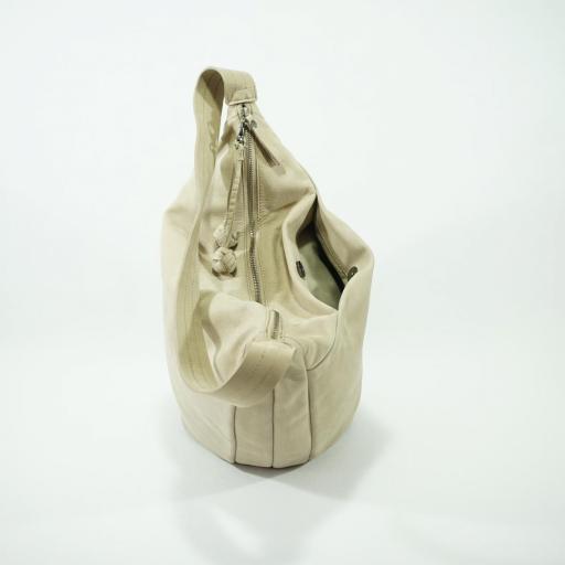Bolso de brazo shopper L Biba benton crudo BEN1L 03 [3]