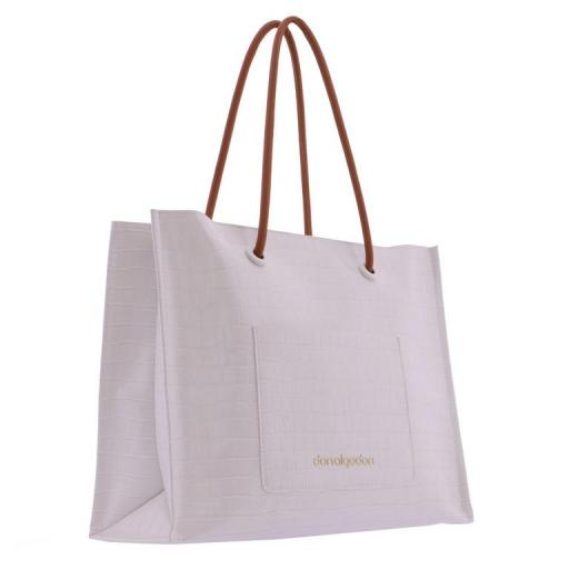 Bolso shopper doble asa don algodon blanco roto1.JPG