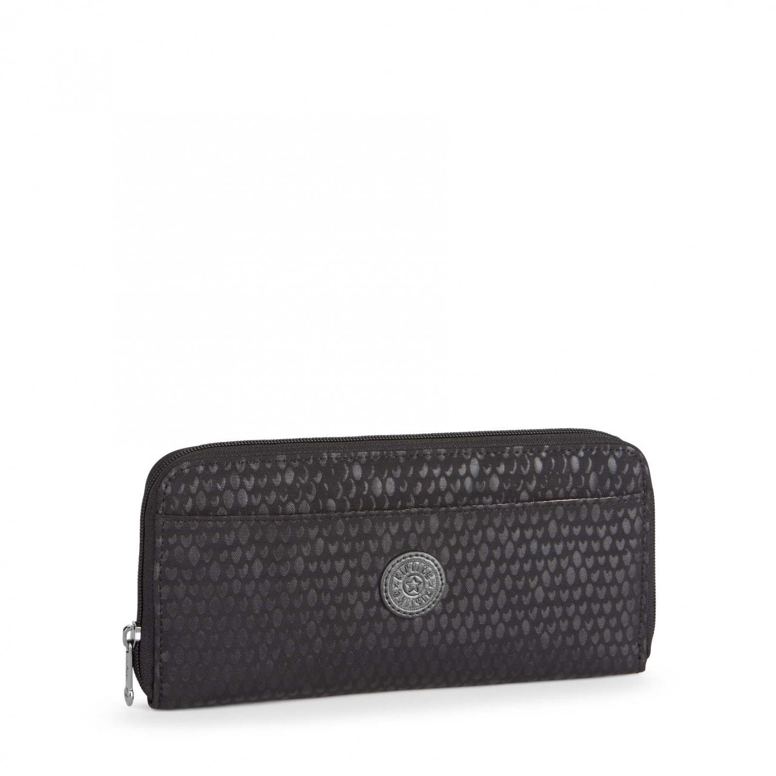 Bolso Kipling TRAVEL DOC Black Scale Emb 19M