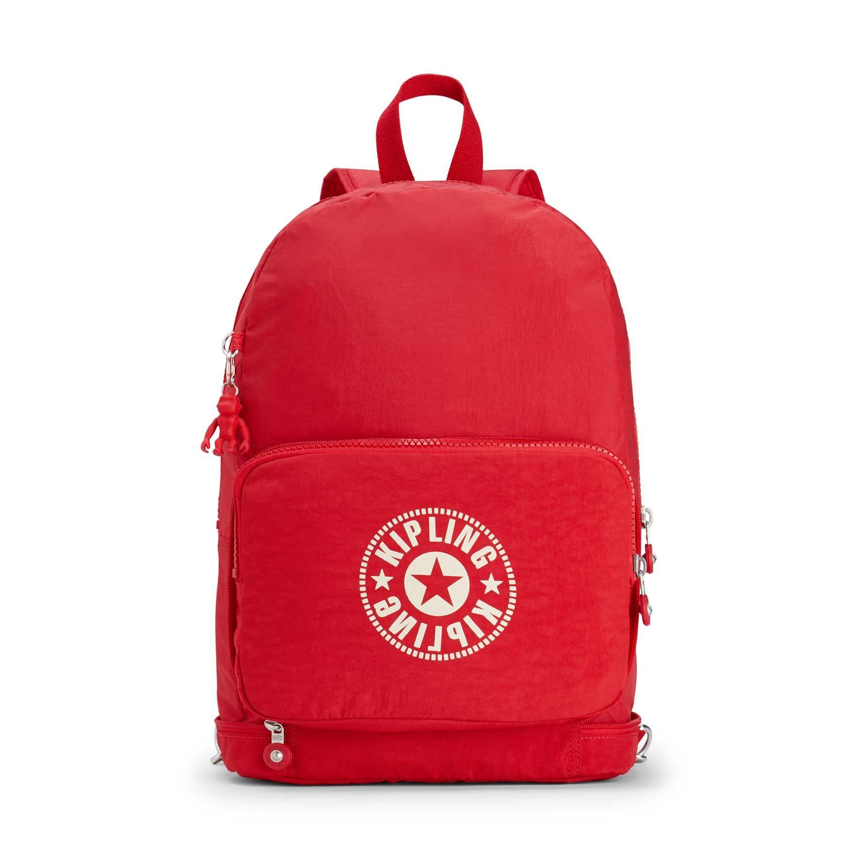 Mochila-Bolso Kipling CLASSIC NIMAN FOLD Lively Red I2636 49W