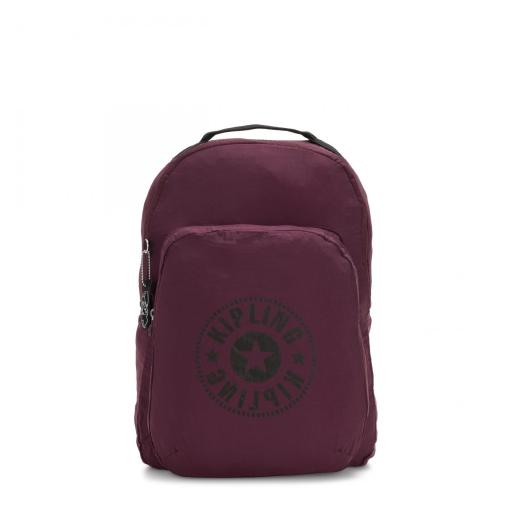 Mochila Plegable Kipling Seoul Plum Light I3741 57L