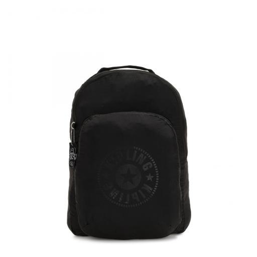 Mochila Plegable Kipling Seoul Black Light I3741 86A