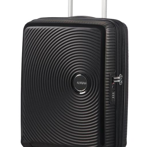 Soundbox Spinner exp. negro 55x40x20/23cm 88472/1027