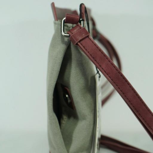 Bolso bandolera pequeño SLANG FUNNY rojo FU1 19 [3]