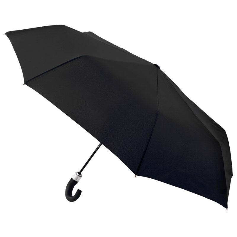 Paraguas auto plegable VOGUE caballero negro liso 792