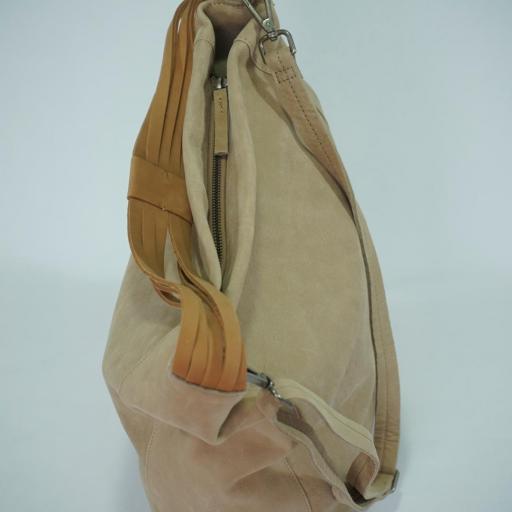 Bolso de brazo y bandolera en piel BIBA wilburn taupe WIL1L 24 [3]