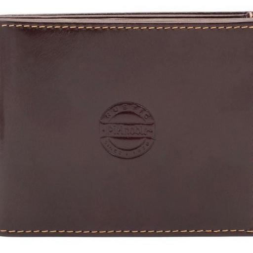 Billetero americano con monedero interior pielnoble rustic marron libano 1.jpeg