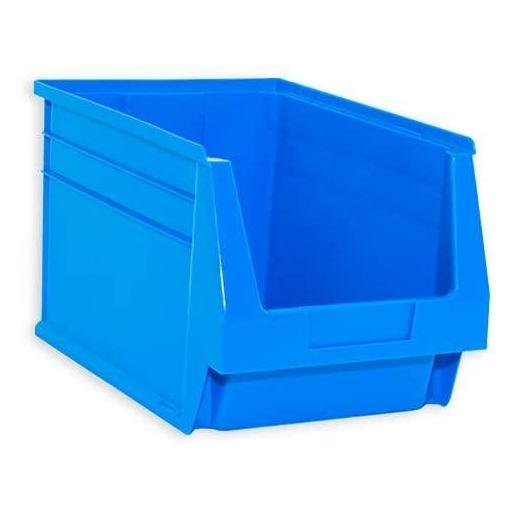 Gaveta apilable 55. Lote de 8 unidades (20hx33.6x21.6cm) Azul Ty-gaveta55 8/u [1]