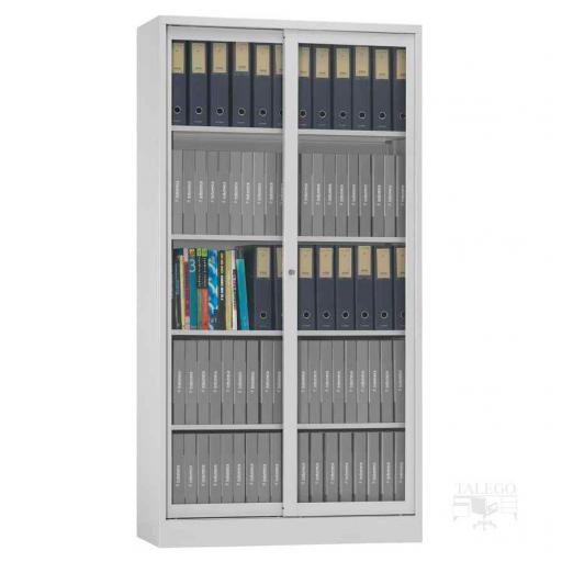 Armario metalico puertas de cristal 195x100x42 id-0210.0106 [1]