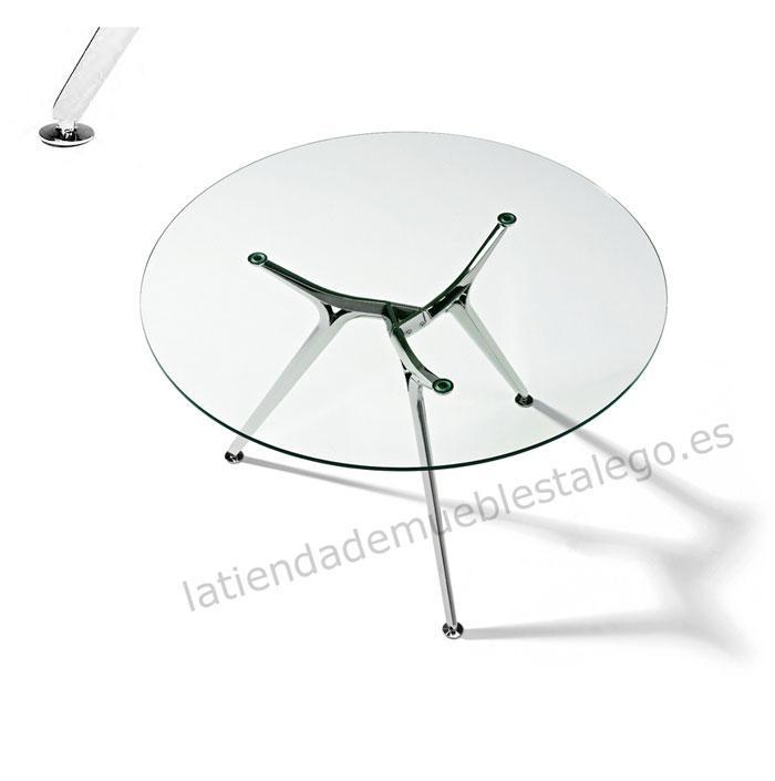 Mesa redonda de diseño ber-w7