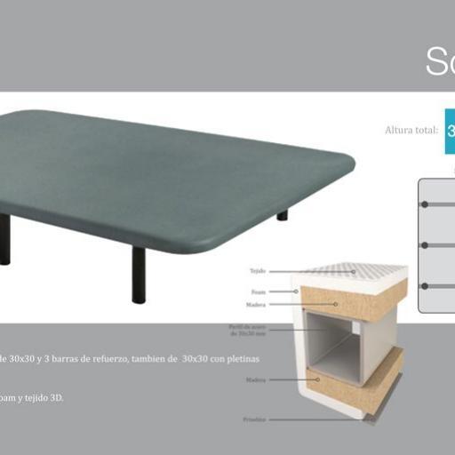 Base tapizada cs-somi L2 3D