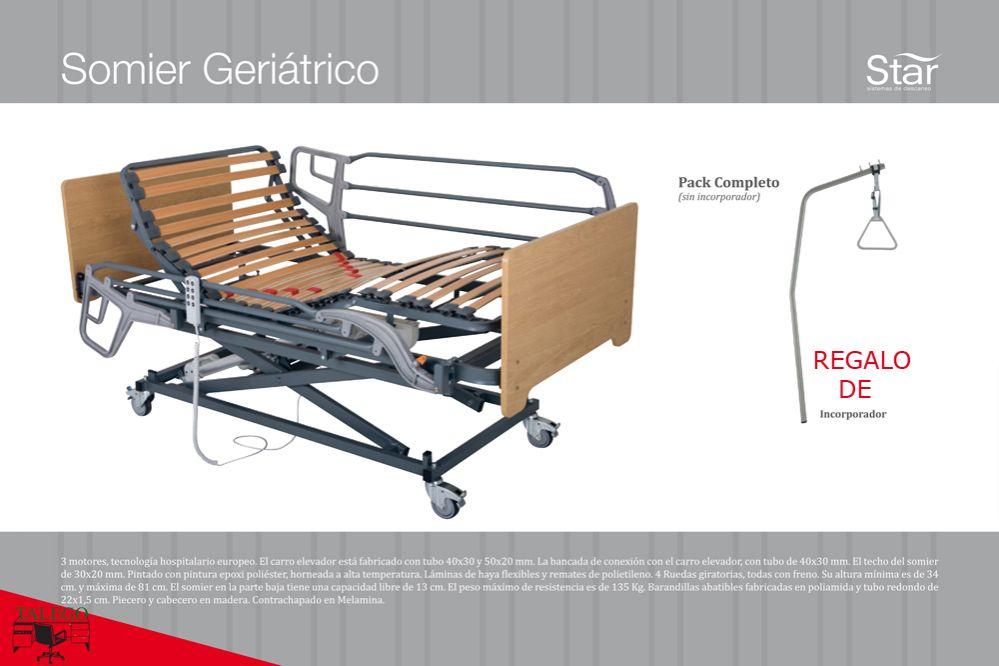 Cama articulada completa cs-cama geriatrico