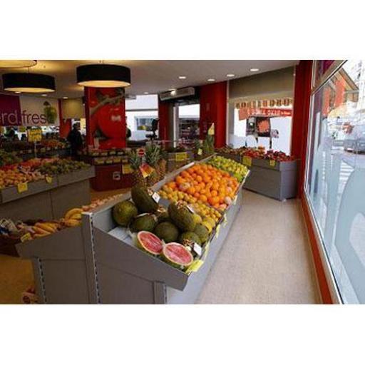 Expositor de frutas en acero inoxidable EM-17A [3]