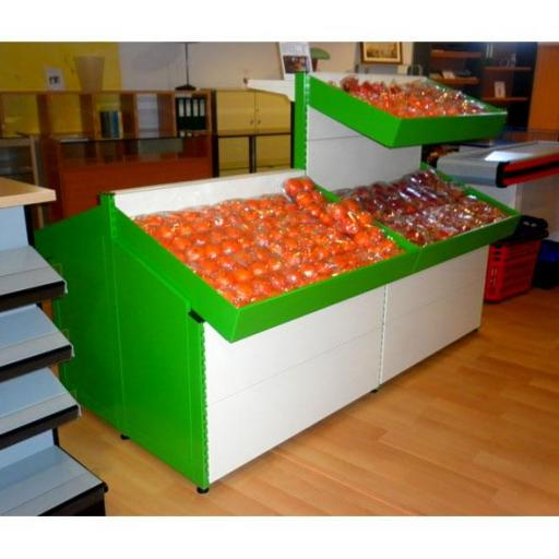 Expositor de frutas en acero inoxidable EM-18A [2]