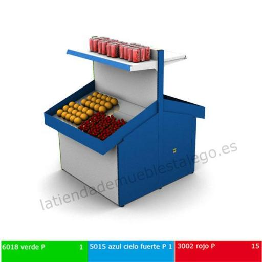 Expositor de frutas en acero inoxidable EM-19A [1]