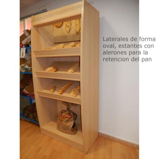 Expositor de pan con espejo EM-mpan [2]