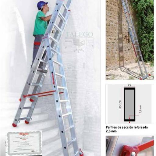 Escalera de aluminio 3 tramos profesional ex-en1500 [0]