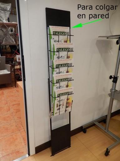 Expositor de catálogos plegable o pared  [2]