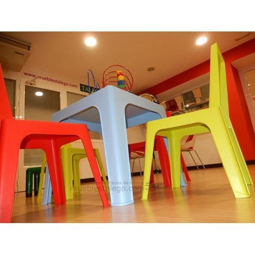 Conjunto de mesa con sillas infantiles gr-silla julieta [2]