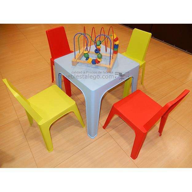 Conjunto de mesa con sillas infantiles gr-silla julieta