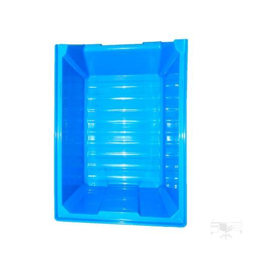 Gaveta apilable 53. Lote de 10 unidades (13hx16x33.6cm) Azul Ty-gaveta53 10/u [2]