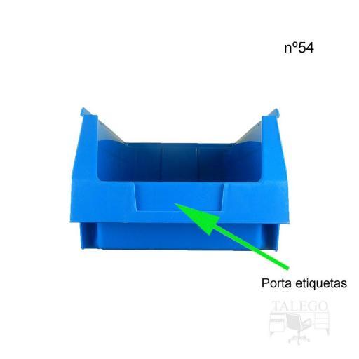 Gaveta apilable 54. Lote de 12 unidades (15.5hx33.6x21.6cm) Azul Ty-gaveta54 12/u [1]