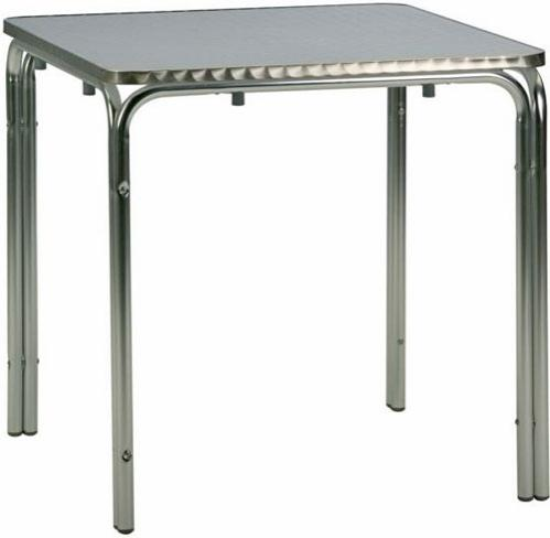 Mesa de aluminio exterior hf-mcacero