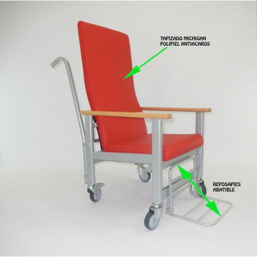 Silla de ruedas para personas de poca movilidad me-613 [1]