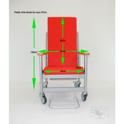 Silla de ruedas para personas de poca movilidad me-613 [3]