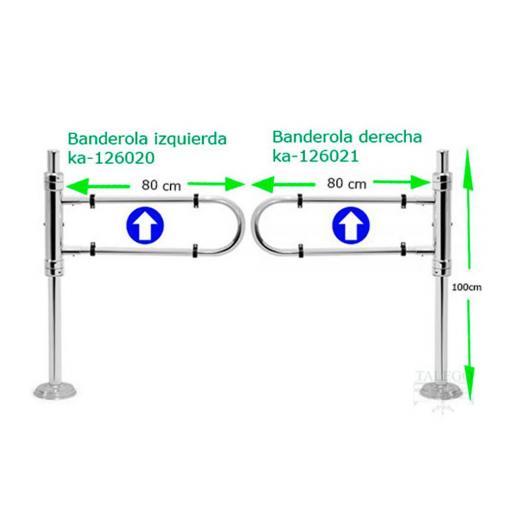 Banderolas de paso para comercio ka-banderolas