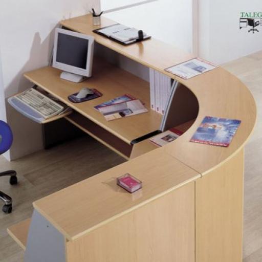 Mostrador recepcion de oficina [2]